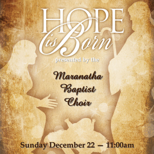 hope is born mbc