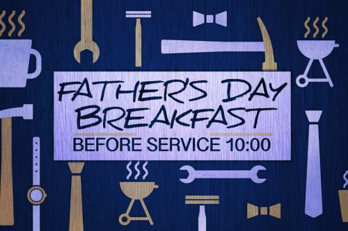 June 16 – Father's Day Fellowship