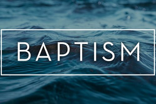 March 29 – Baptism Sunday